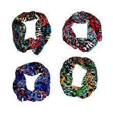Animal print head scarf or neck scarf  - JTY430