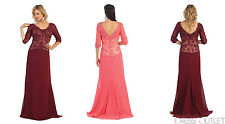 TheDressOutlet Mother of the Bride Groom Formal Plus Size Evening Long Gown