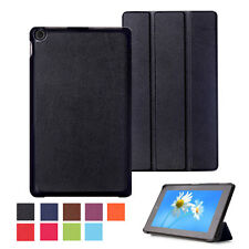 Luxury Leather Flip Magnetic Stand Smart Case Cover For Amazon Kindle Fire HD 8