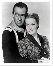 Actress Maureen O'Hara With John Wayne Rio Grande Publicity Silver Halide Photo