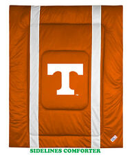 TENNESSEE VOLUNTEERS SIDELINES COMFORTER, SHEET SET, PILLOW SHAM