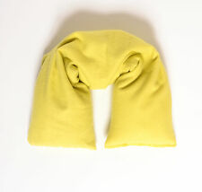 Organic Cotton Hot or Cold Therapy Flax Neck Pillow Organic Herbs - Flannel