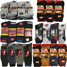 12 PAIRS MENS WOMENS SOCKS THERMAL WARM WINTER WALKING THICK SPORTS WOOL QUALITY