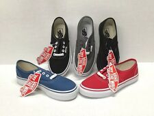 VANS KIDS-YOUTH AUTHENTIC CLASSIC SHOES  CANVAS (NEW) ALL SIZES