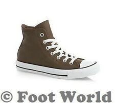 Converse Chuck Taylor All Star Leather Hi Shoes - 0028 - Grey