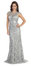 TheDressOutlet Plus Size Long Formal Evening Gown Mother of the Bride Dress