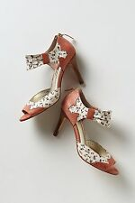 Anthropologie Lonoke Peep-Toes Org.$168.00 New In Box!