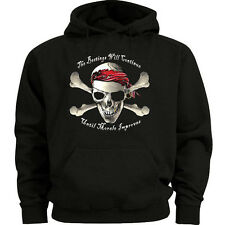 Big and tall sweatshirt hoodie beatings pirate funny shirt big and tall for men
