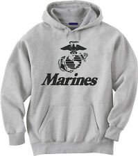 Big and tall hoodie sweatshirt US Marines usmc men's big and tall shirts sweats