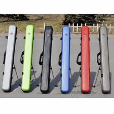 Fishing Rod Tackle Hard ABS Case Bag Carry Holder Luggage Holdall Travel 125cm