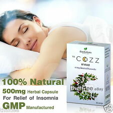 500mg 100% NATURAL HERBAL SLEEP AID RELIEF INSOMNIA ANXIETY STRESS DEPRESSION