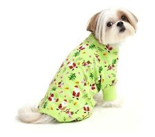 HOLIDAY Pajamas for Dog - XS - M - Classic holiday icons print - super comfy