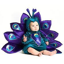NEW NIP Baby Infant Boy or Girl 6-12 or 12-18 Months Peacock Halloween Costume