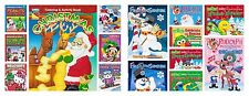 Frosty Rudolph Mickey Snoopy Hello Kitty Sesame Xmas Coloring Activity Book 1pc