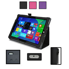 KroO PU Leather Folio Tablet Cover Case for Microsoft Surface 3
