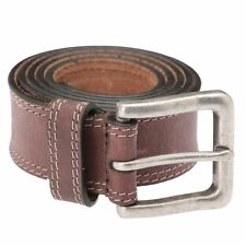 New Timberland Men's Boot Leather Brown Classic Belt - Style #B75389/7300