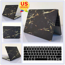 """Black Marble Golden Lines Hard Case Keyboard Cover for MacBook Air Pro 11""""/13"""""""