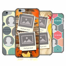 CUSTOM CUSTOMIZED PERSONALIZED MONTAGE HARD BACK CASE FOR APPLE iPHONE PHONES