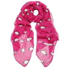 Women fashion gift  Penguin Print Shawl Voile vintage Princess Scarf Scarves