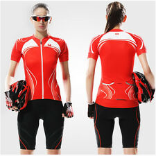 Santic Women Cycling Jacket Outdoor Sport Bicycle Bike Jersey Short Sleeve S-XL