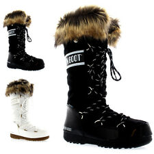 Womens Tecnica Original Moon Boot Monaco Snow Winter Knee High Boots US 5.5-10