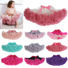 Kids Girls Ballet Dance Pettiskirt Tutu Skirt Princess Party Petticoat Dress