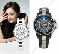 OHSEN Mens Womens LED Backlight Quartz Wrist Watches Sport Watch Waterproof Lady