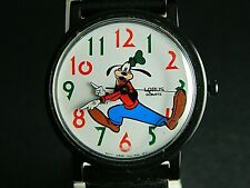 DISNEY  COLLECTIBLE  GOOFY  COLORFUL NUMERAL WATCH