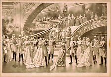 Photo Print Vintage Poster: Stage Theatre Flyer Blank Or Unknown Show 02