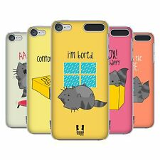 HEAD CASE DESIGNS WILBUR THE CAT HARD BACK CASE FOR APPLE iPOD TOUCH MP3