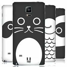 HEAD CASE CARTOON ANIMAL FACES SERIES 1 BATTERY COVER FOR SAMSUNG PHONES 1
