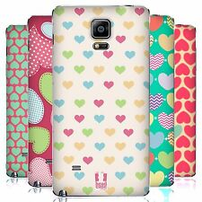 HEAD CASE DESIGNS HEART PATTERN REPLACEMENT BATTERY COVER FOR SAMSUNG PHONES 1