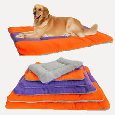 New Large Medium Small Warm Soft Fleece Pet Dog Kennel Puppy Bed Mat Pad Kennel