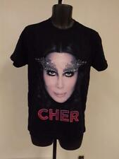 "NEW Cher ""Dressed to Kill Tour"" Adult SIZE S-M- L-XL-2XL CONCERT T-SHIRT"