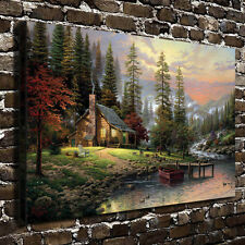 A Peaceful Retreat by Thomas Kinkade Art HD Giclee Print Canvas Home Wall decor