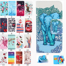Luxury Stand Cute Flip Skins Leather Wallet Phone Case Cover For Samsung Galaxy