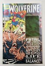 WOLVERINE #75 Fatal Attractions - Hologram Cover 1993 NM / VF Marvel Comics **