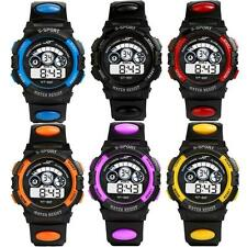 Mens luxury Waterproof Digital LED Silicone Quartz Date Sports gift Wrist Watch