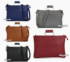 "Luxury Genuine Leather Laptop Handbag Case For Apple 11"" 12"" 13"" MacBook Air Pro"