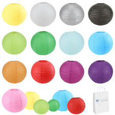 "100 pcs 6"" 8"" 10"" 12"" 14"" 16"" 18"" 20"" Chinese Paper Lantern Wedding Party Decor"