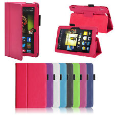 Luxury Folio Stand Smart Leather Cover Case For Amazon Kindle Fire HDX 7 Inch