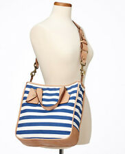 Ann Taylor Club Striped Tote Org.$248.00 New In Packaging!