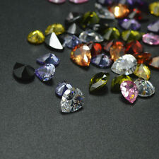 Brilliant PEAR Cut Wholesale 20pcs Lot Muti-Color CZ Cubic Zirconia Loose Stones