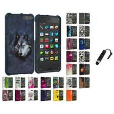 For Amazon Fire Phone Hard Design Skin Case Cover Accessories Stylus Plug