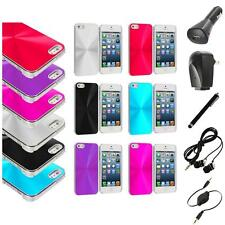 Chrome Aluminum Hard Luxury Case Cover Accessory+Accessories for iPhone 5 5S