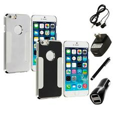For Apple iPhone 6 (4.7) Brushed Aluminum Metal Hard Case Cover 4X Accessories