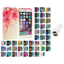 For Apple iPhone 6 PLUS 5.5 TPU Design Silicone Case Cover Car Charger