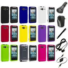 Color Hard Snap-On Case Cover+Accessories for HTC EVO Shift 4G Phone Accessory