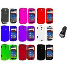 Color Hard Snap-On Case Cover+2.1A Charger for Samsung Epic 4G Phone Accessory