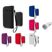 For Samsung Galaxy Ace Style Wallet Flip Pouch Case Cover USB Charger